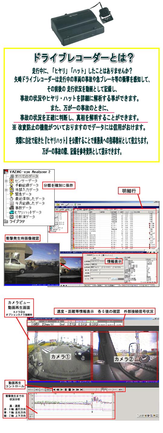 ドライブレコーダ 株式会社小野運送店